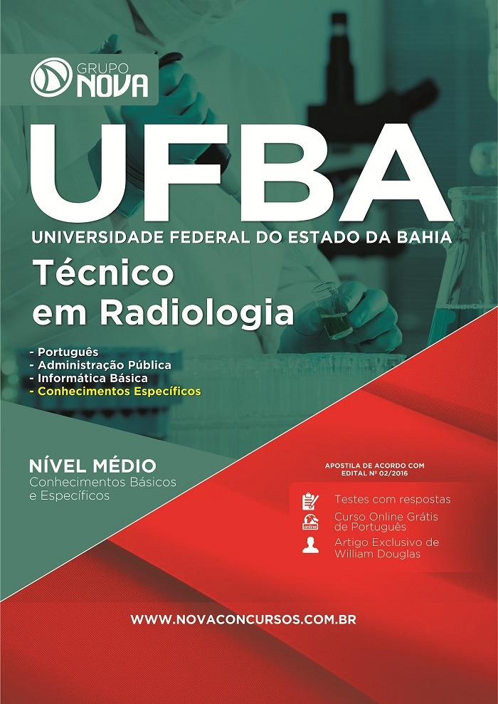 apostila de radiologia para concurso