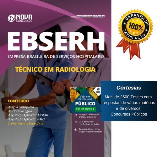apostila ebserh - técnico em radiologia