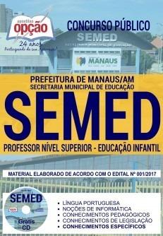 Apostila Educação Infantil Concurso Semed Manaus 2018 R 6390