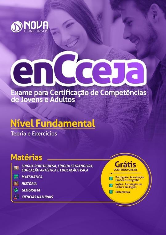 apostila encceja 2019 ensino fundamental r$ 58,99 em mercado livre