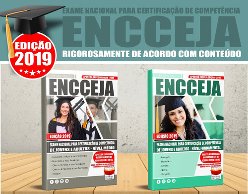 apostila encceja ensino médio 2019