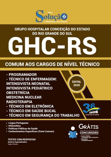 apostila ghc rs 2020 - comum nível técnico