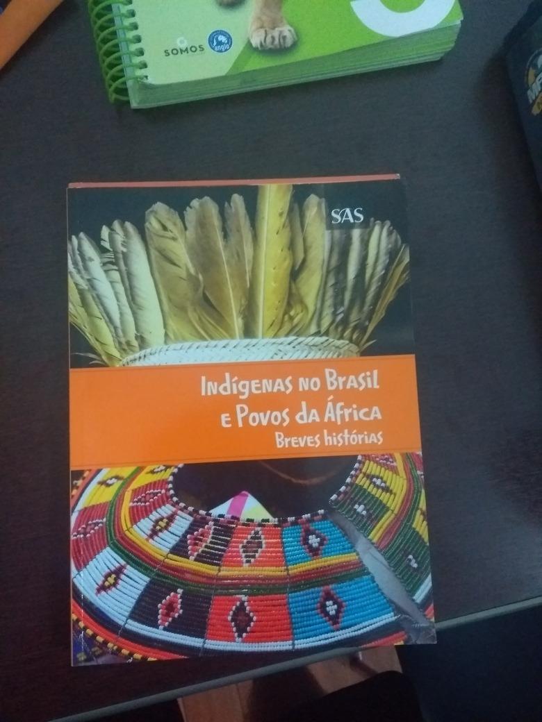 Apostila Indígenas No Brasil E Povos Da África Sas Vest - R  30,00 ... f1c6cbf685