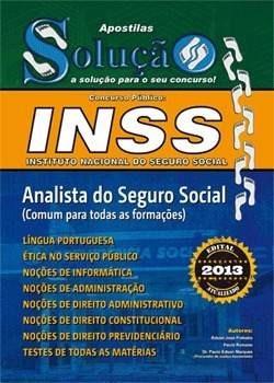 apostila inss2015 analista seguro social - assistente social