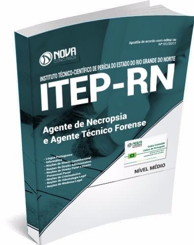apostila itep-rn - agente de necropsia e agente técnico fore
