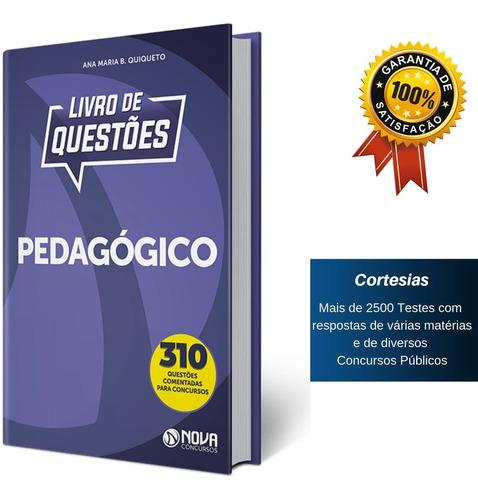apostila livro de questões conhecimentos pedagógico