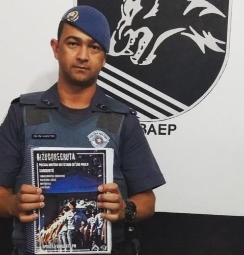 apostila maceteada sargento polícia militar são paulo