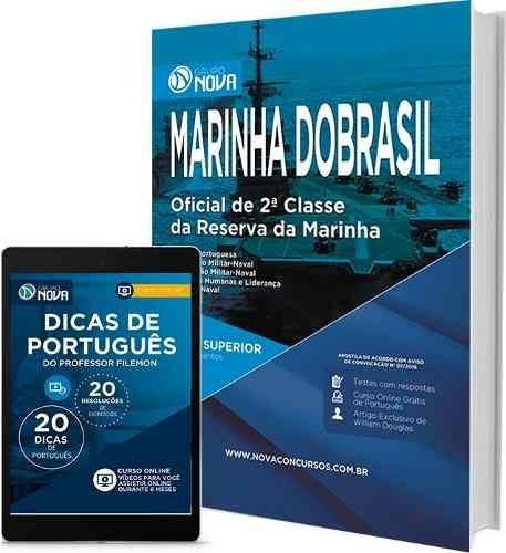 apostila marinha do brasil 2016  oficial 2ª classe - reserva