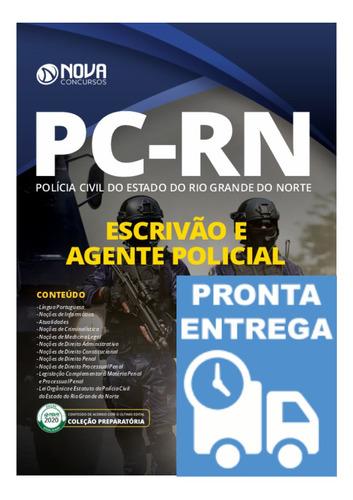 apostila pc-rn escrivão e agente policial - polícia civil rn
