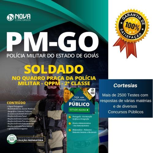 apostila pm go - soldado da polícia militar de goiás