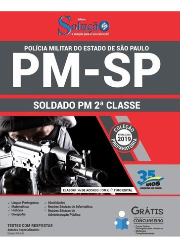 apostila pm sp 2019  soldado pm de 2ª classe