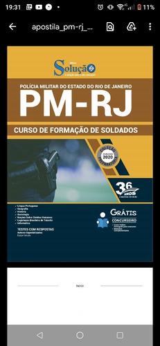 apostila pmerj - 25 reais. interessados entrar em contato
