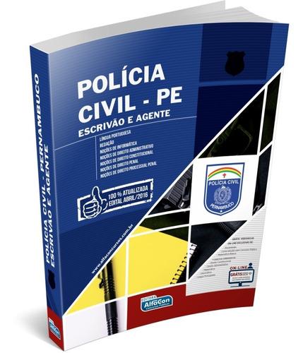 apostila policia civil de pernambuco - pcpe