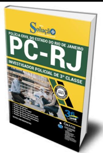 apostila polícia civil pc rj- investigador  policial +ebook