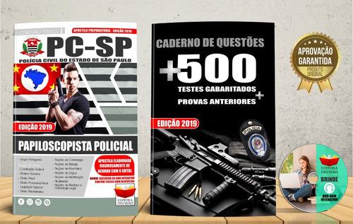 apostila polícia civil-sp - papiloscopista policial 2019