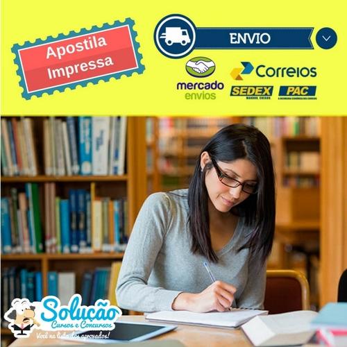 apostila prefeitura florianópolis sc - educador social