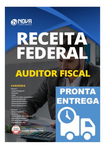 apostila receita federal auditor fiscal  concurso rf livro