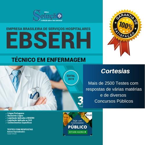 apostila solução ebserh - técnico em enfermagem
