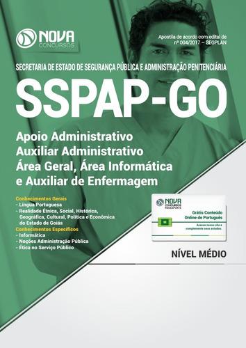 apostila sspap-go 2017 - auxiliar administrativo