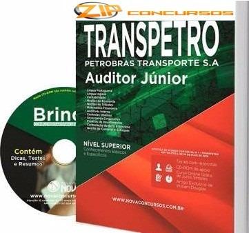 apostila transpetro 2016 - auditor junior[+cd grátis]