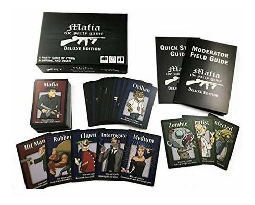 apostrophe games mafia the party game deluxe edition