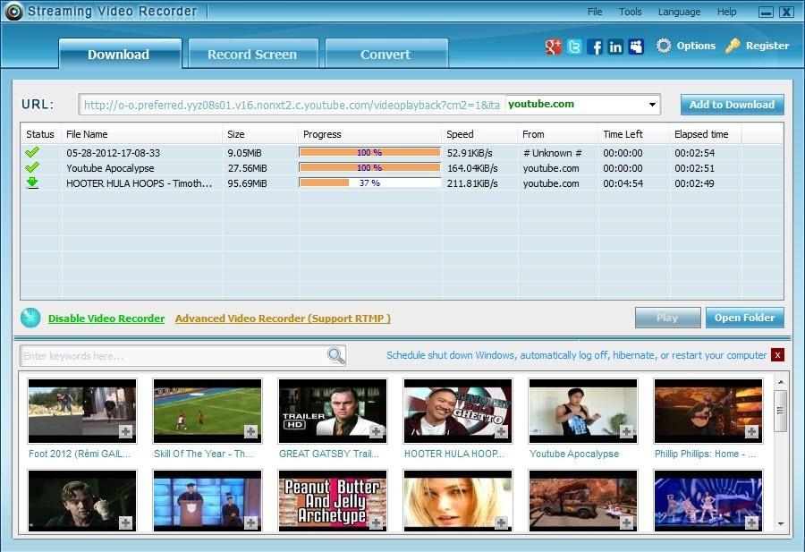 Apowersoft video capture 6 baixe vdos do youtube e outros r 10 carregando zoom ccuart Images