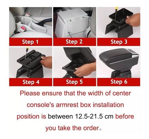 apoya brazo auto universal base extensible+usb