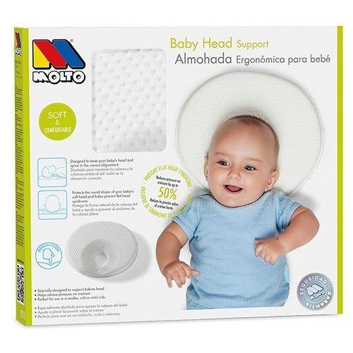 apoya cabeza memoria para bebes molto