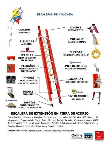 apoya poste industrial marca: escaleras de colombia
