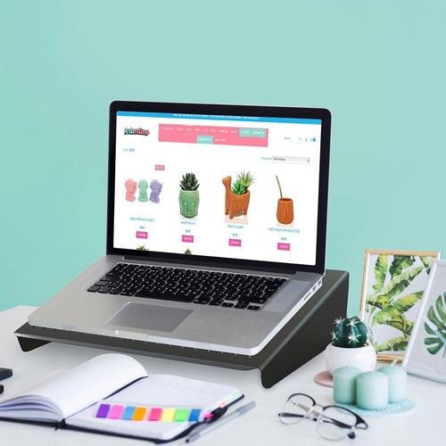 apoya soporte notebook laptop ergonomico mesa base bandeja