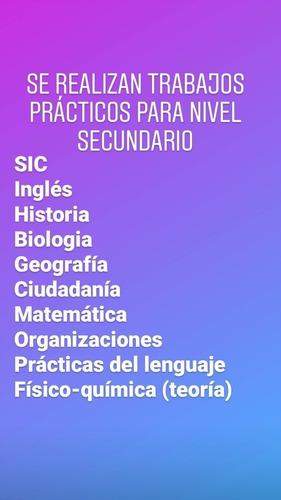 apoyo escolar (clases