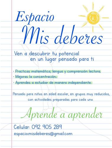apoyo escolar? prácticas, ejercicios y mucho mas para vos!!
