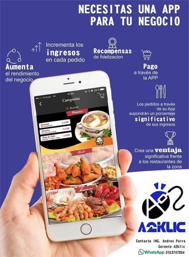 app aplicaciones móviles para restaurantes, carrito compras