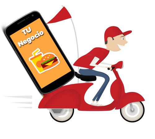 app pedidos delivery android  empanada pizza bar heladeria