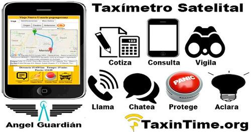 app plataforma rastreo taxi qr taxis como uber o cabify
