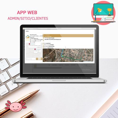 app / plataforma tipo uber para taxi o transporte ejecutivo