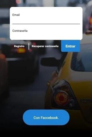 app servicio de taxis