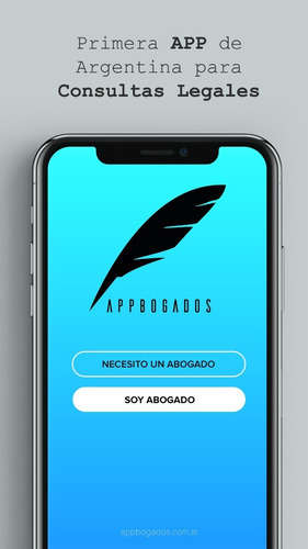 appbogados: app de consultas legales. abogados online.