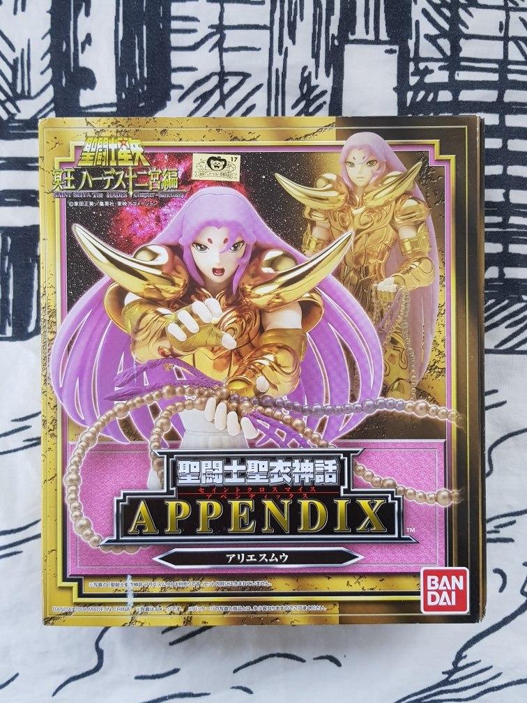 Appendix Aries Mu Jp Myth Cloth Caballeros Zodiaco Dorados ...