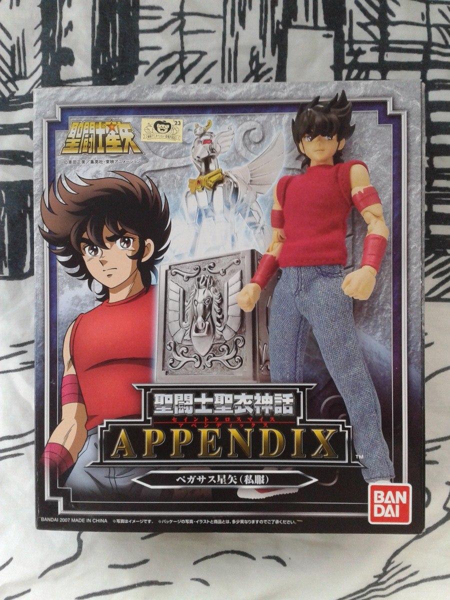 Appendix Pegaso Seiya Plain Cloth Jp Caballeros Zodiaco - $ 1,599.00 ...