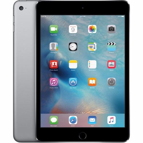 apple 128gb ipad mini 4 wi-fi + 4g lte 7,9 pulg _1