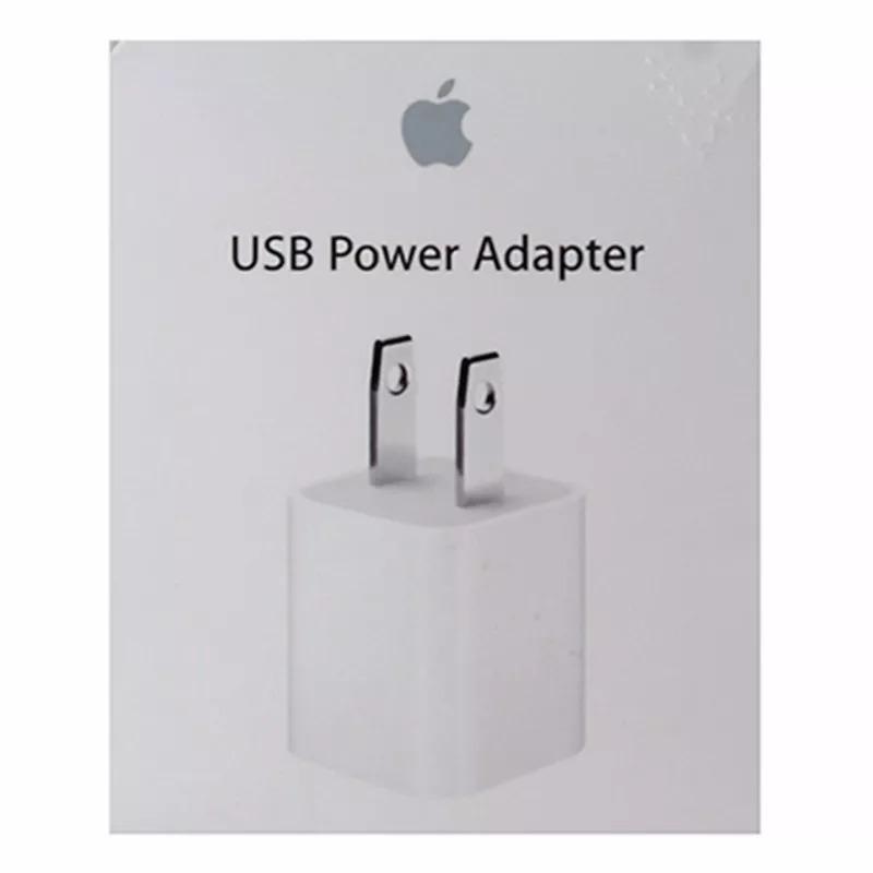 74daa70a425 Apple Adaptador De Energia Usb 5w (md810ll/a) - Branco - R$ 119,99 em  Mercado Livre