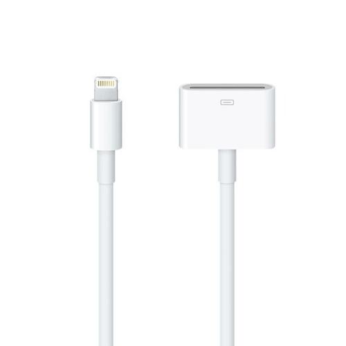 apple adaptador lightning a 30 pin de 20 cm - phone store