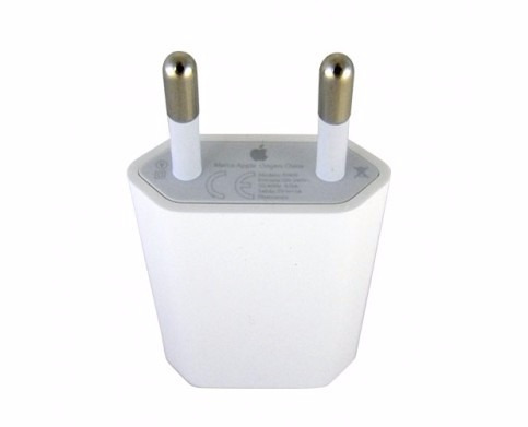 apple adaptador para iphone ipod 5w usb - phone store