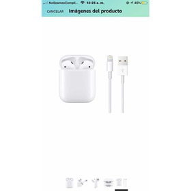 Apple AirPods 2 Con Funda De Carga Mv7n2am/a (original)