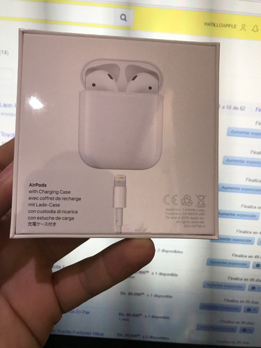 apple airpods audifonos inalámbrico original sellado hatillo