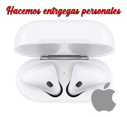 apple airpods con funda de carga cableado/ entrega personal