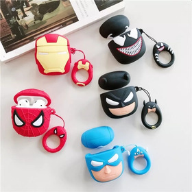Apple AirPods Estuche Protector Funda Super Heroes