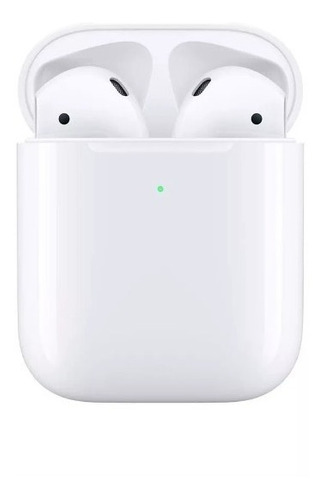 apple audifonos airpods 2 ª con estuche de carga inalambrica