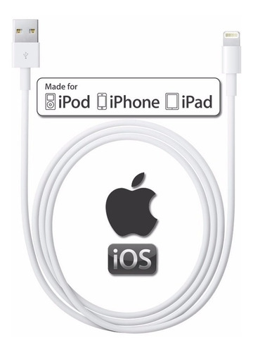 apple cable usb a lightning 2m para iphone original
